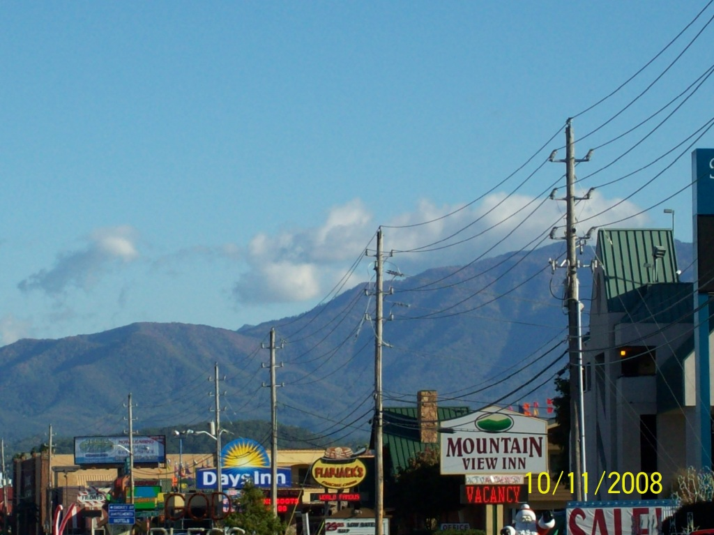 The Mountains of Pigeon Forge